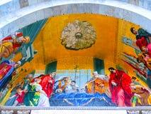 Venetië, Italië - Mei 04, 2017: Het detail van St Mark Basilica Royalty-vrije Stock Afbeeldingen
