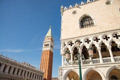 Venetië, Italië, mening van de lagune van Grand Canal stock foto's