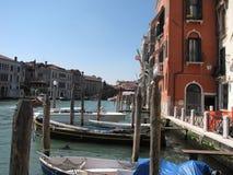 Venetië Italië met boten Royalty-vrije Stock Foto's