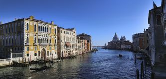 Venetië, Italië, 6pm Januari 2017 royalty-vrije stock foto