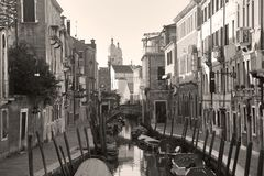 Venetië, Italië, 6pm Januari 2017 royalty-vrije stock foto's
