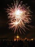 Venetië, Italië - vuurwerk bij het Festival van de Verlosser Stock Afbeeldingen