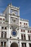 Venetië, Italië: Zodiacal Muurklok royalty-vrije stock fotografie