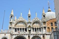 15 Venetië-JUNI: De Basiliek van het Teken van detailheilige op 15 Juni, 2012 in Venice.Italy. Royalty-vrije Stock Afbeeldingen