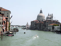 Venetië, Kanaal Grande Stock Afbeelding