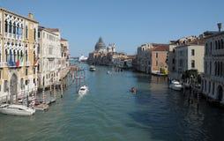 Venetië: Kanaal Grande Royalty-vrije Stock Foto