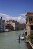 Venetië, Kanaal, het Kanaal van Venetië, Italië, Venetië, Italië Stock Afbeelding