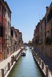 Venetië, Kanaal, Venetië, Italië Stock Fotografie