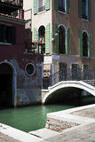 Venetië, Kanaal, Venetië, Italië Stock Foto
