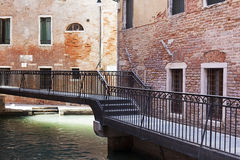Venetië, Kanaal, Venetië, Italië, Brug, Royalty-vrije Stock Foto