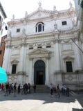 Venetië - Kerk van San Salvador royalty-vrije stock foto