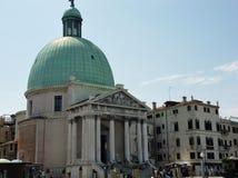 Venetië - Kerk van San Simeone Piccolo royalty-vrije stock foto's