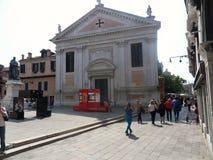 Venetië - Kerk van Santa Fosca royalty-vrije stock fotografie