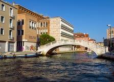 Venetië - Kleurrijke architectuur Stock Afbeelding