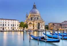 Venetië, La-begroeting stock afbeelding