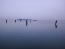 Venetië laguna Royalty-vrije Stock Foto