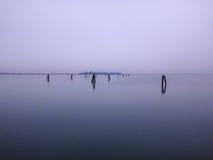 Venetië laguna Stock Fotografie