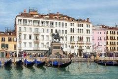Venetië - Maitresse van Adriatic, parel van Italië Stock Foto