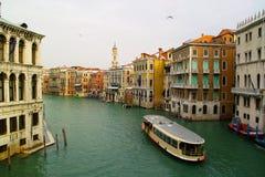 Venetië - mening van één of andere brug Royalty-vrije Stock Afbeeldingen
