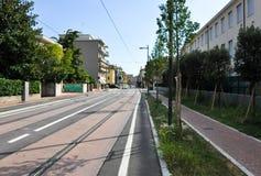 VENETIË, 26 MESTRE-JULI: Mestre op 26,2013 Juli in Italië. Mestre is het meest bevolkte stedelijke gebied van het vasteland van Ve Stock Afbeeldingen