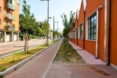 VENETIË, 26 MESTRE-JULI: Mestre op 26,2013 Juli in Italië. Mestre is het meest bevolkte stedelijke gebied van het vasteland van Ve Stock Fotografie