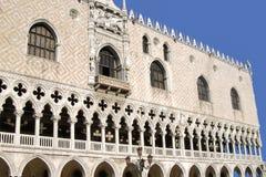 Venetië met Doge` s Paleis, Veneto, Italië, Europa royalty-vrije stock foto's