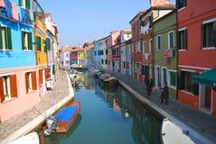 Venetië - Murano Stock Afbeeldingen