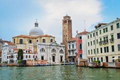 Venetië op de zomerdag Stock Afbeelding
