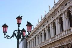 Venetië - Piazza San Marco stock foto