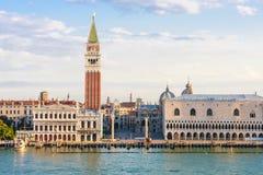 Venetië, Piazza San Marco in de ochtend royalty-vrije stock foto's
