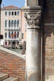 Venetië, San-Polodistrict, Rialto-markt, vissenmarkt Royalty-vrije Stock Fotografie