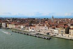 Venetië van cruise wordt gezien die royalty-vrije stock fotografie