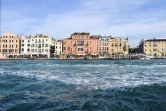 Venetië van de boot Stock Afbeelding