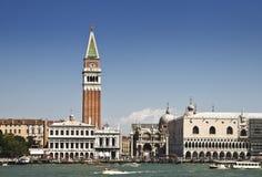 Venetië van het Kanaal Stock Foto