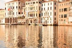 Venetië in warme tinten royalty-vrije stock afbeelding