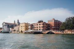 Venetië, wiew van Grand Canal, Venetië, Italië Royalty-vrije Stock Foto's