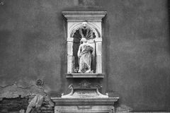 Venetië in zwart-wit Stock Foto