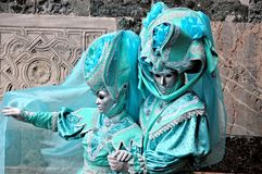 Venetië Carnaval 2009 Stock Afbeelding