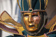 Venetiaan Carnaval-2013 Stock Afbeeldingen
