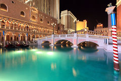 Venetiaan in Las Vegas Royalty-vrije Stock Afbeelding