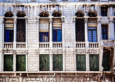 Venetiaans architecturaal detail Stock Foto's