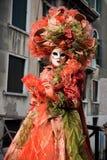 Venetiaans Carnaval masker Royalty-vrije Stock Afbeeldingen