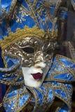 Venetiaans Carnaval masker, Venetië Stock Foto