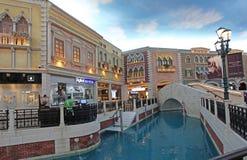 Venetiaans casino in Macao Royalty-vrije Stock Foto