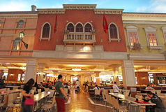 Venetiaans casino in Macao Royalty-vrije Stock Foto's