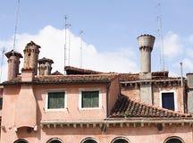 Venetiaans dak-I-Venetië-Italië Royalty-vrije Stock Foto