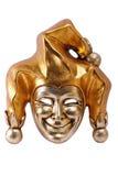 Venetiaans geïsoleerde masker Royalty-vrije Stock Foto's