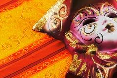 Venetiaans geschilderd masker stock illustratie