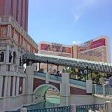 Venetiaans Hotel in Las Vegas Royalty-vrije Stock Afbeeldingen