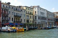 Venetiaans kanaal stock afbeelding